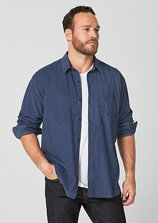 Regular: textured corduroy shirt from s.Oliver