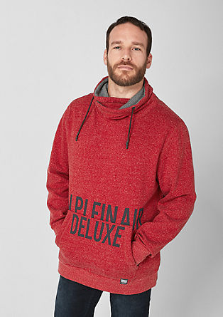 Sweatshirt mit Statement-Print