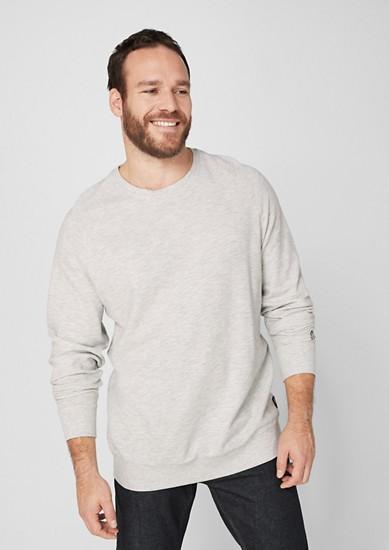 Leichtes Struktur-Sweatshirt