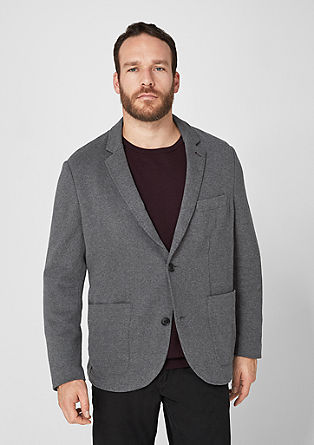 Interlock jersey sports jacket from s.Oliver