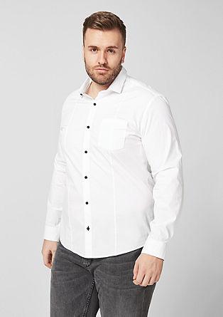 Regular: chemise en coton classique de s.Oliver