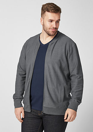 Sweatshirt bomber jacket from s.Oliver