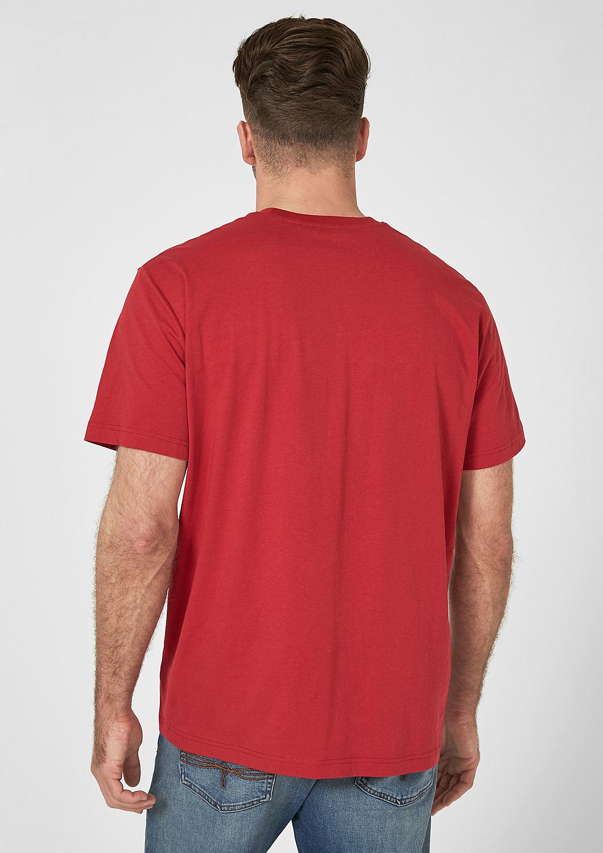 s.Oliver - T-shirt en jersey animé d'une inscription - 3