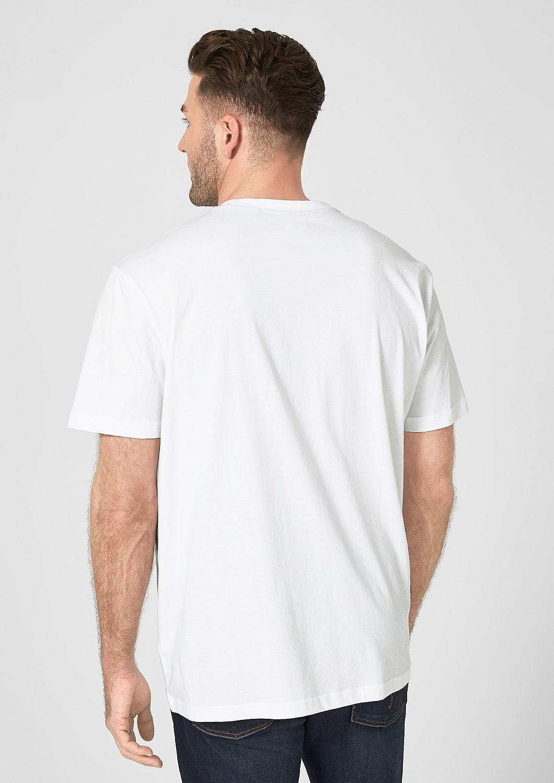 s.Oliver - Basicshirt mit Label-Print - 2