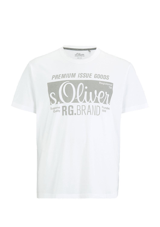 s.Oliver - Basicshirt mit Label-Print - 3