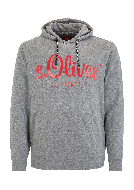 s.Oliver - Sweat à capuche à imprimé à l'effigie de la marque - 4