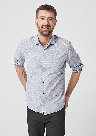 Tall Size:Hemd mit Printmuster
