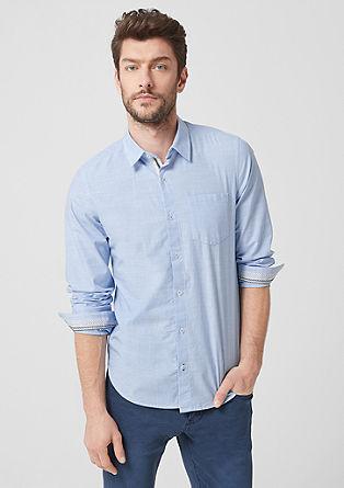 Regular: pruhovaná bavlněná košile