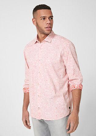 Regular:Hemd mit Printmuster