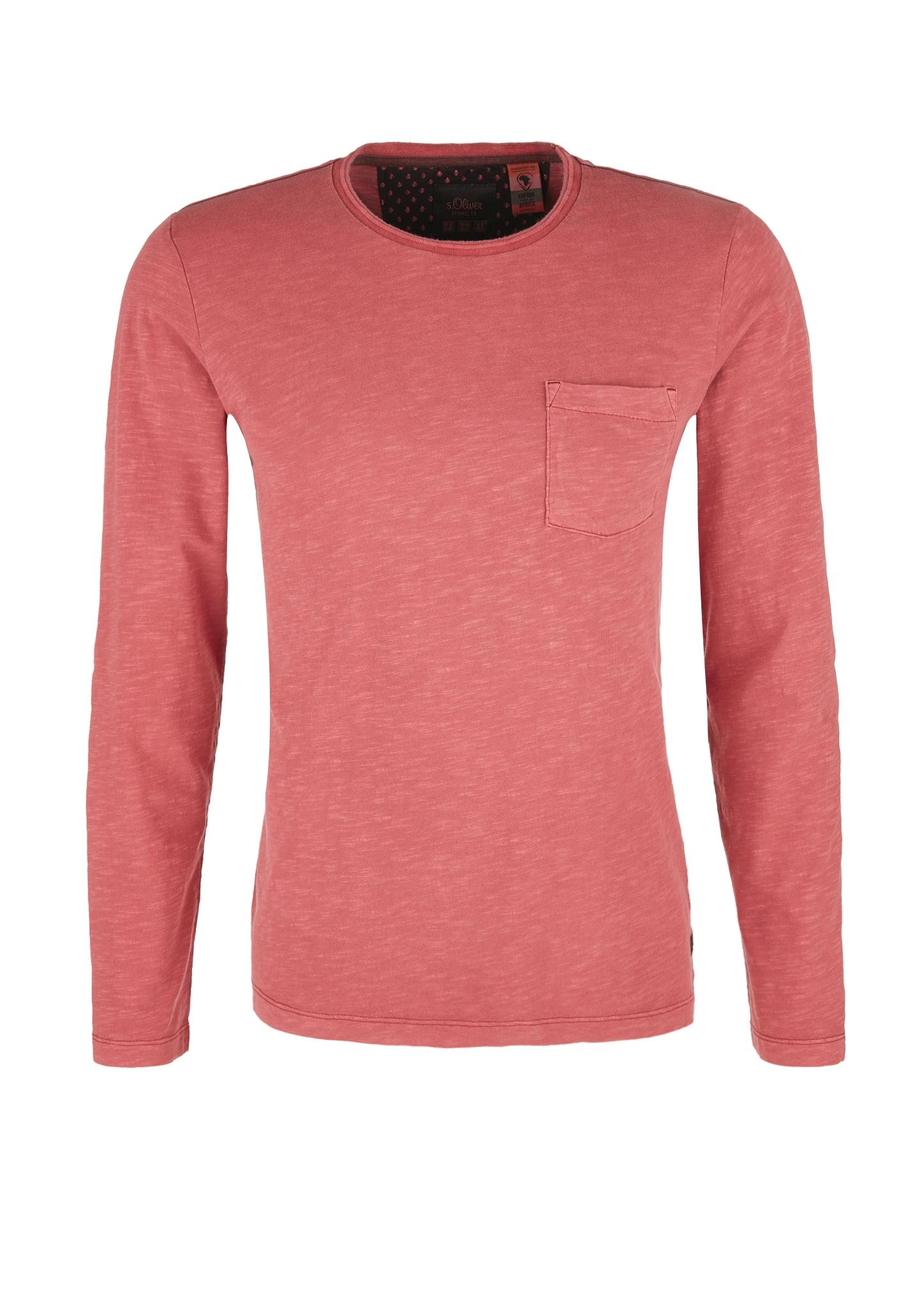 Langarmshirt   Bekleidung > Shirts > Langarm Shirts   Rot   100% baumwolle   s.Oliver