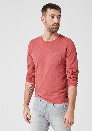 Tall Size: tričko zžíhané příze