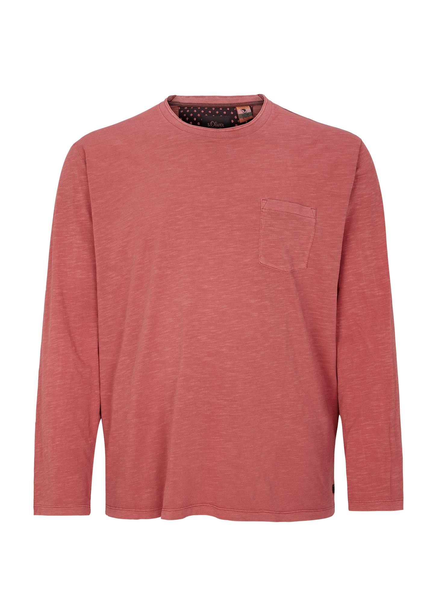 Langarmshirt | Bekleidung > Shirts > Langarm Shirts | Rot | 100% baumwolle | s.Oliver Men Big Sizes