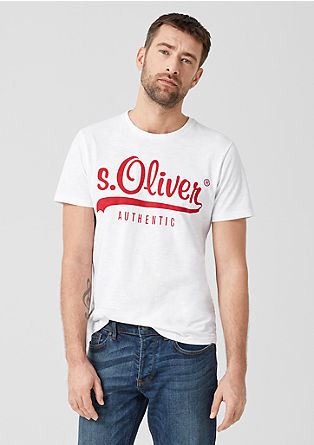 Tall Size: T-shirt with a logo from s.Oliver