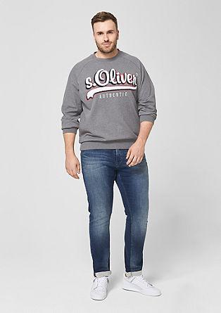 Sweatshirt met labelpatch