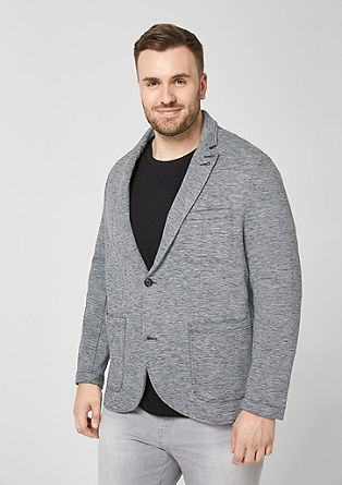 Melange jersey jacket from s.Oliver