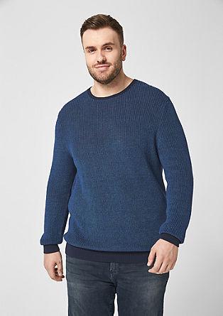 Pulover iz mešanice lana