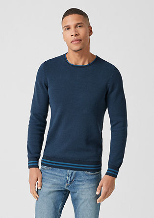 Tall Size: textured jumper from s.Oliver