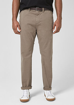 Scube relaxed: chino met riem