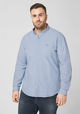 Regular: overhemd met buttondown