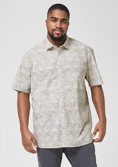 Regular: Fein gemustertes Hemd