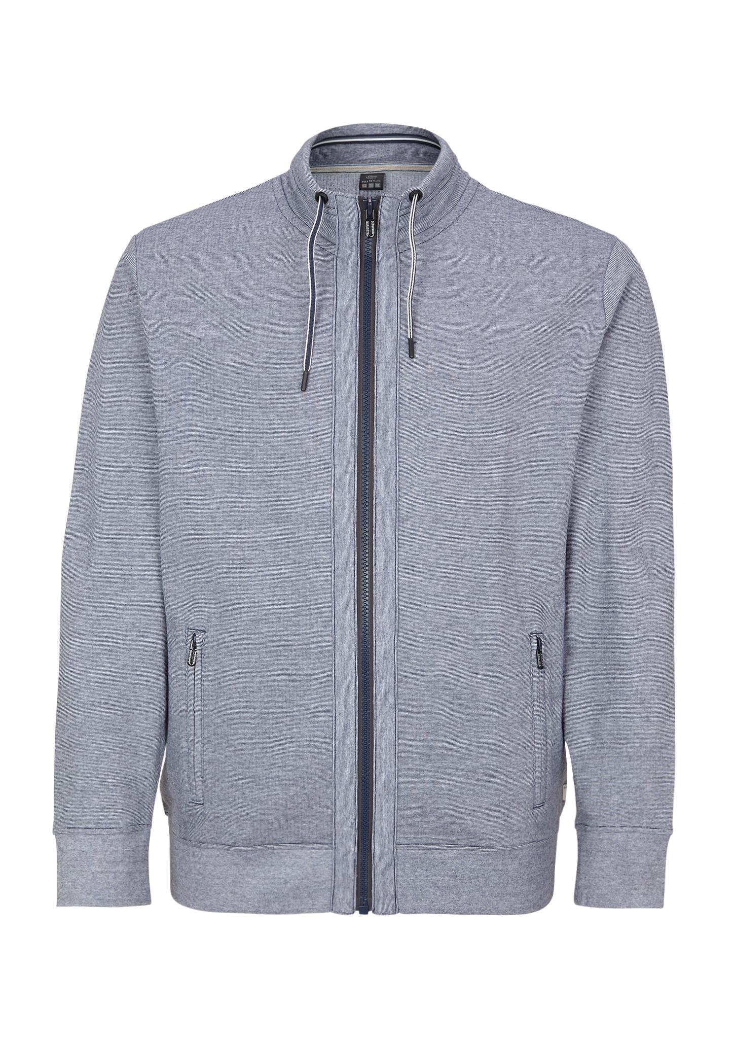 Felpa-Sweatjacke   Bekleidung > Sweatshirts & -jacken > Sweatjacken   Blau   85% baumwolle -  15% polyester   s.Oliver Men Big Sizes