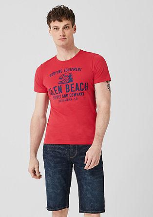 Tall Size: t-shirt à imprimé de s.Oliver