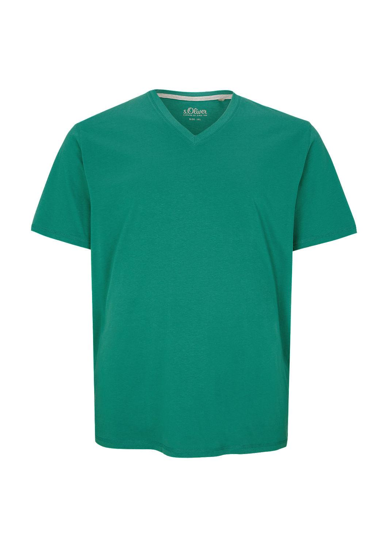s.Oliver - Jerseyshirt mit V-Ausschnitt - 4