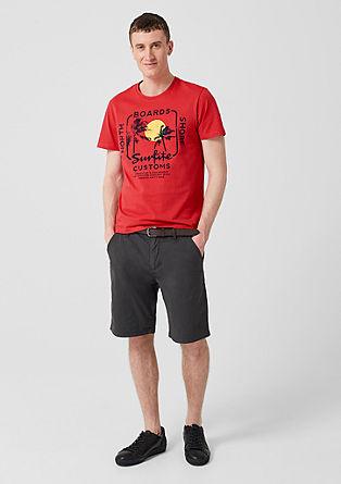 T-shirt à imprimé sur le devant de s.Oliver