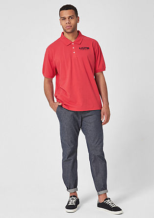 Polo shirt with logo embroidery from s.Oliver
