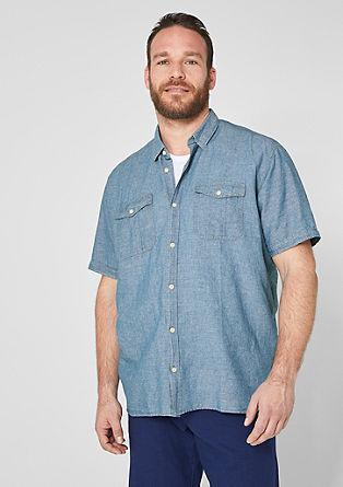 Regular: Linen shirt from s.Oliver