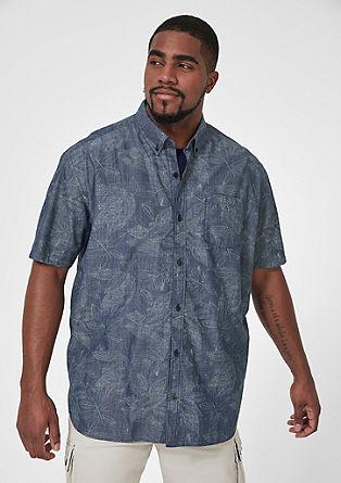Regular: srajca s kratkimi rokavi s potiskom