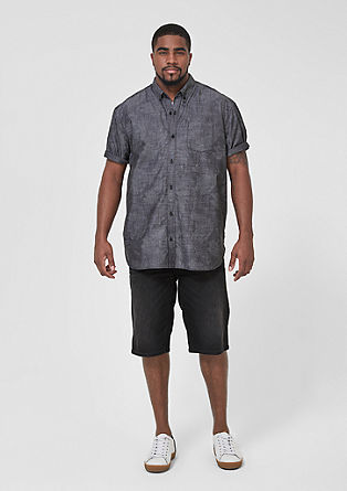 Regular: short sleeve shirt with a print from s.Oliver