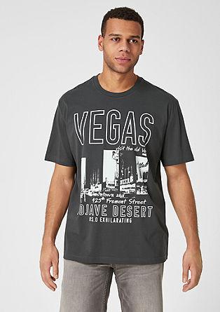 Jerseyshirt mit Vintage-Print