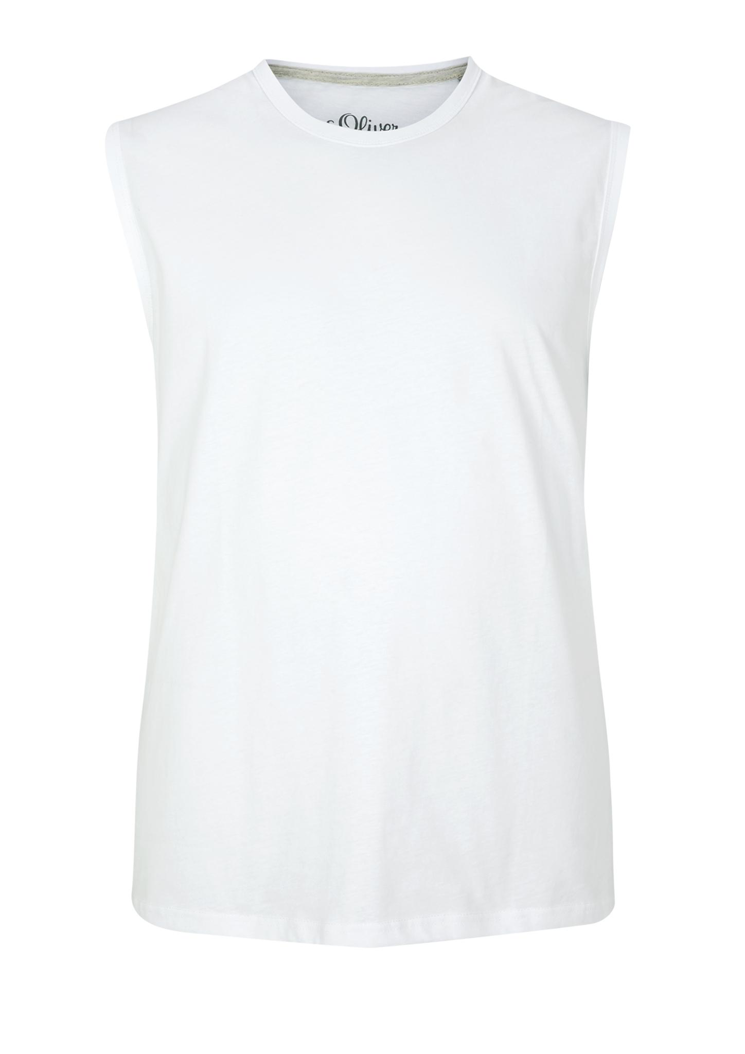 Tanktop   Sportbekleidung > Tanktops   Weiß   100% baumwolle   s.Oliver Men Big Sizes