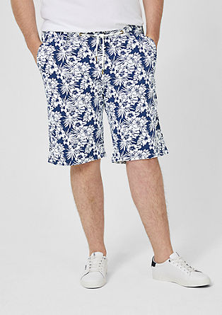 File Loose: Bermudas with a print from s.Oliver