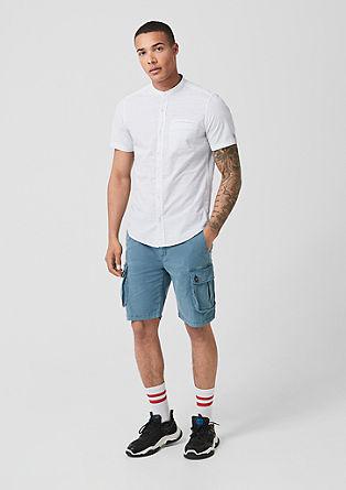Tall Size: overhemd met korte mouwen