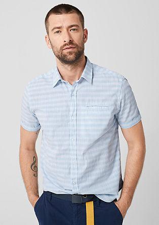 Tall Size: košile se strukturovaným vzorem