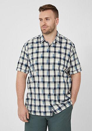 Regular: vzorovaná košile skrátkým rukávem