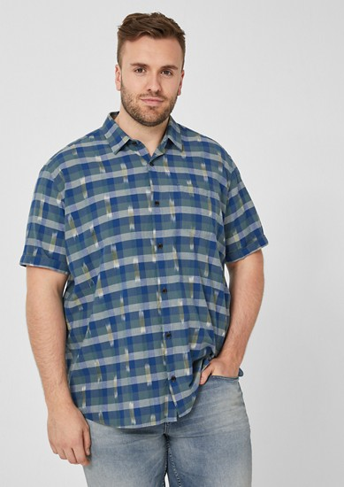 Regular: patterned short sleeve shirt  from s.Oliver