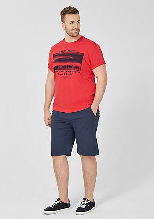 Jersey shirt met print op de voorkant