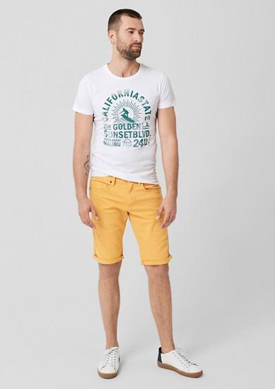 Tall Size: shirt met print op de voorkant