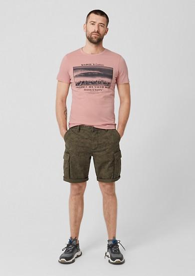 Tall Size: jersey shirt met print