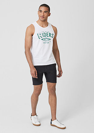 Tall Size: jersey tank top from s.Oliver