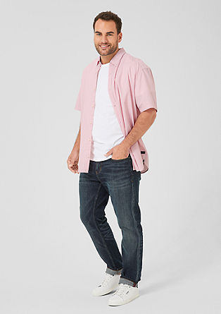 Regular: textured short sleeve shirt from s.Oliver