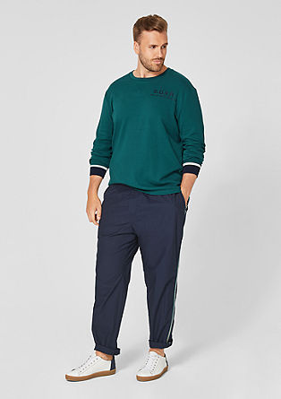 long sleeve top with ribbed trims from s.Oliver