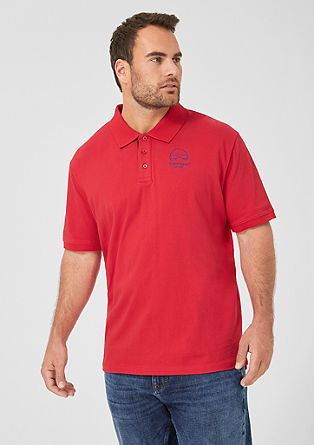 Fine jersey polo shirt from s.Oliver