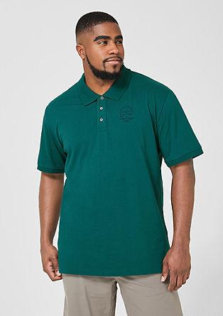 Polo majica iz tankega džersija