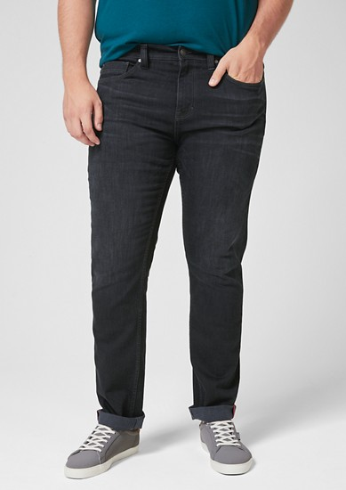 Scube Relaxed: Dunkle Jeans