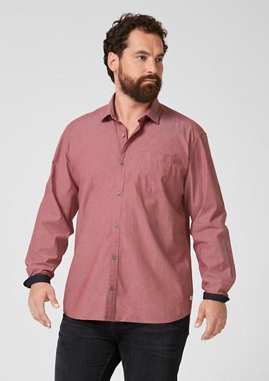 Katoenen overhemd met stretch
