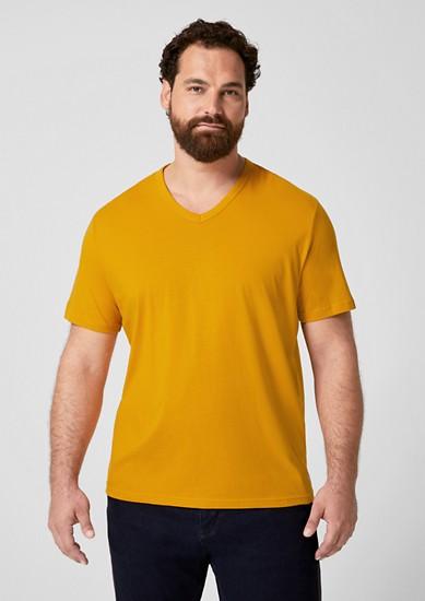 T-shirt basique à encolure en V de s.Oliver